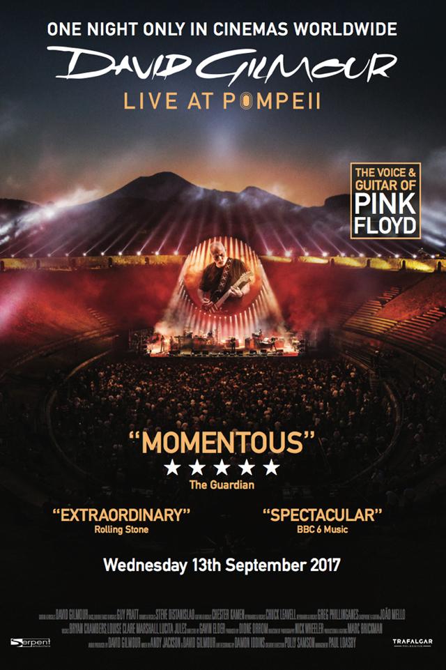 David Gilmour / Live at Pompeii