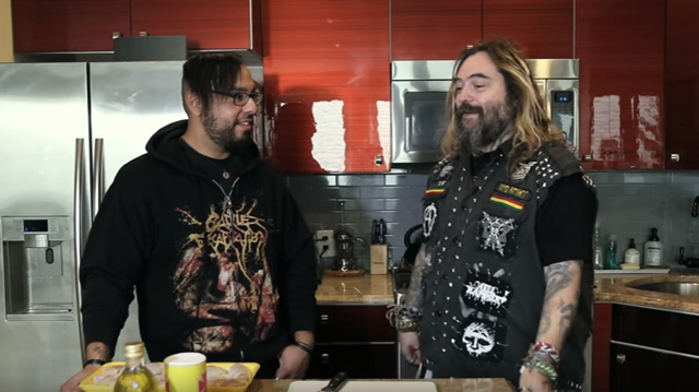 MAX CAVALERA Shows Off His Special Brazilian BBQ Recipe! | Metal Injection