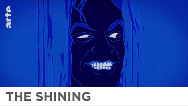 Shining - Stanley Kubrick One Minute Animation - ARTE Cinema