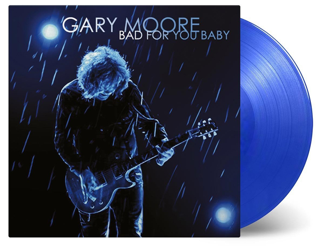 Gary Moore / Bad for You Baby (Transparent Blue Vinyl)