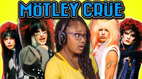 KIDS REACT TO MOTLEY CRUE (1980s Metal Band) - FBE