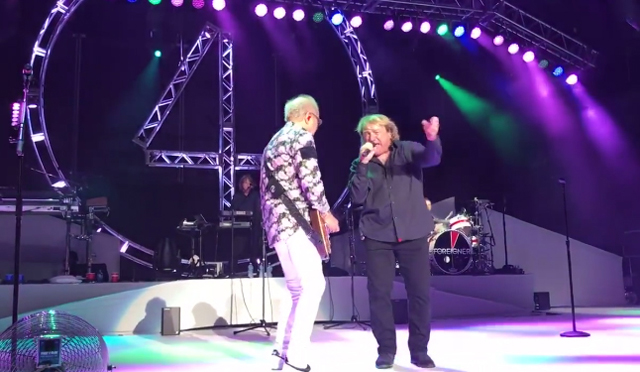 Foreigner with Lou Gramm, Ian MacDonald & Al Greenwood