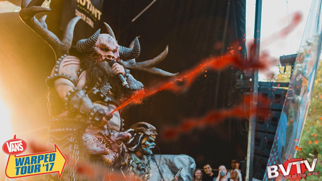 GWAR Warped Tour 2017