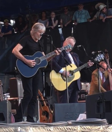 Roger Waters and John Prine