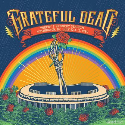 Grateful Dead / RFK Stadium 1989 Box