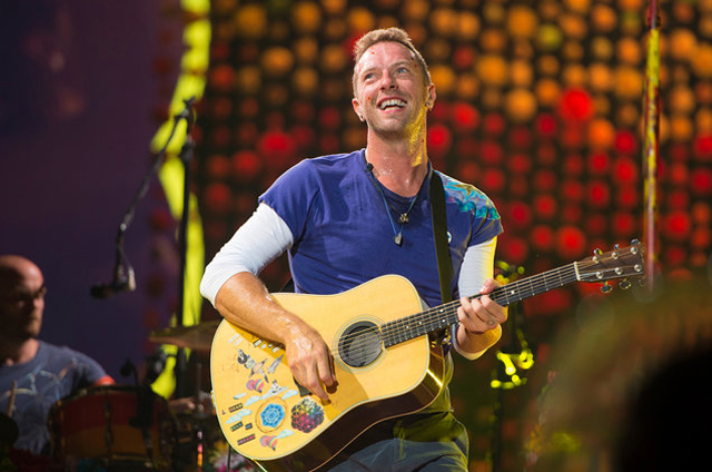 Chris Martin - Photo by Scott Roth / Invision / AP