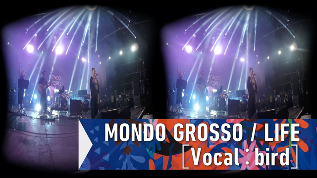 MONDO GROSSO / LIFE[Vocal:bird]at FUJI ROCK FESTIVAL '17