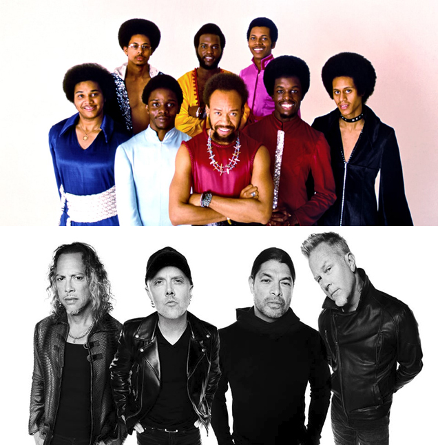 Earth, Wind and Fire & Metallica