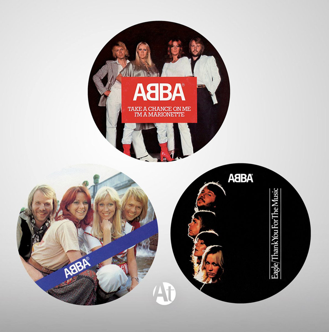"""ABBA: The Album - 7"""" singles limited-edition picture discs"""