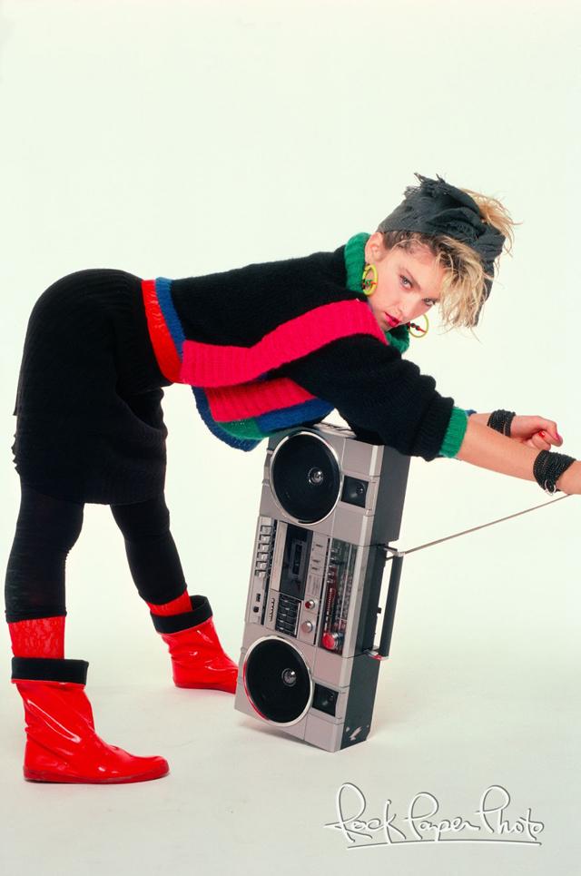 Madonna (Photos by Richard Corman, courtesy of Rock Paper Photo)
