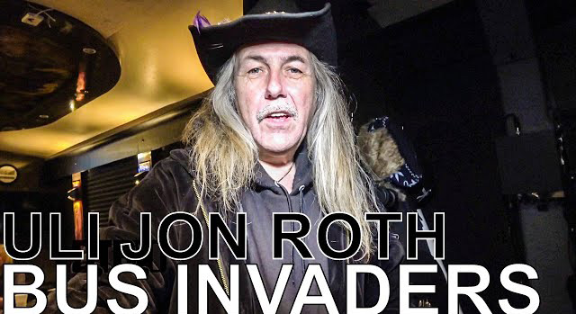 Uli Jon Roth - BUS INVADERS - Digital Tour Bus