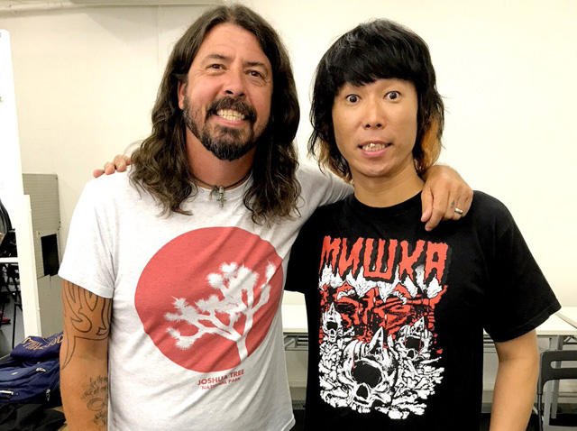 Dave Grohl × 難波章浩