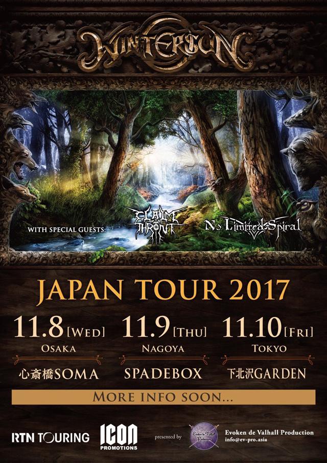 Wintersun Japan Tour 2017