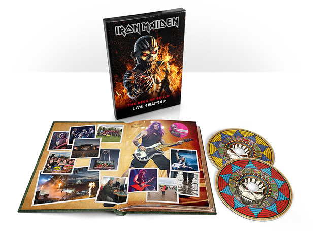 Iron Maiden / The Book Of Souls: Live Chapter [2CD Deluxe Edition]