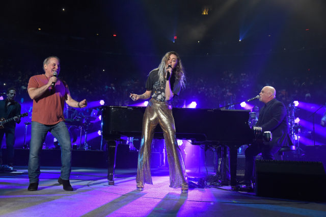 Billy Joel with Paul Simon, Miley Cyrus