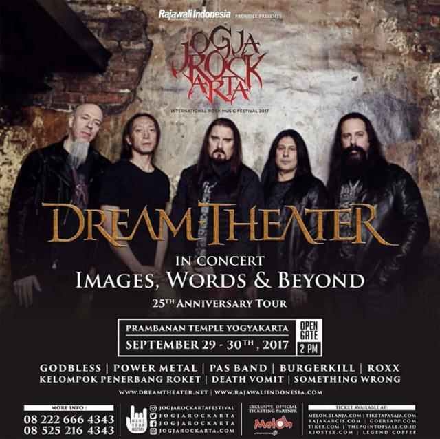 Dream Theater - Prambanan Temple Yogyakarta 2017