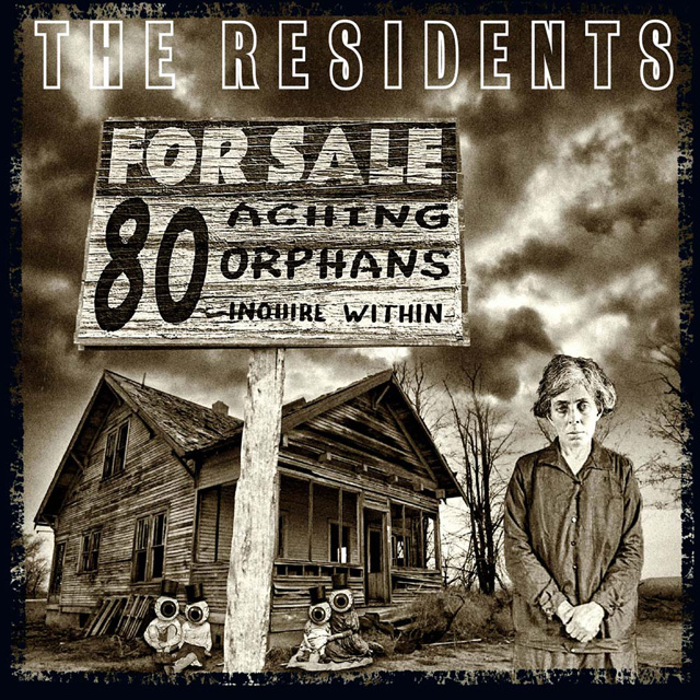 The Residents / 80 Aching Orphans: 45 Years Of The Residents 4cd Hardback Book Anthology Set