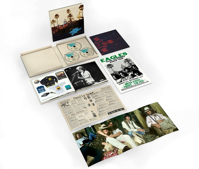 イーグルス『Hotel California』発売40周年記念盤のボックス開封映像が公開