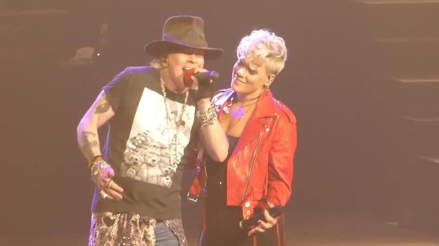 Guns N' Roses & P!nk