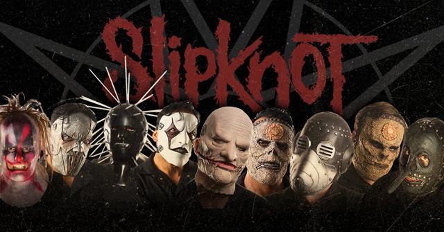 スリップノットのマスク