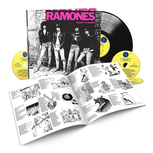 Ramones / Rocket To Russia (40th Anniversary Deluxe 3CD/1LP Edition)