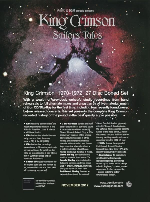 King Crimson / Sailors' Tales (1970 - 1972)