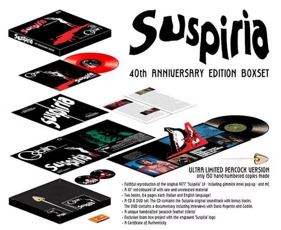 Goblin / Suspiria - 40th anniversary Edition boxset