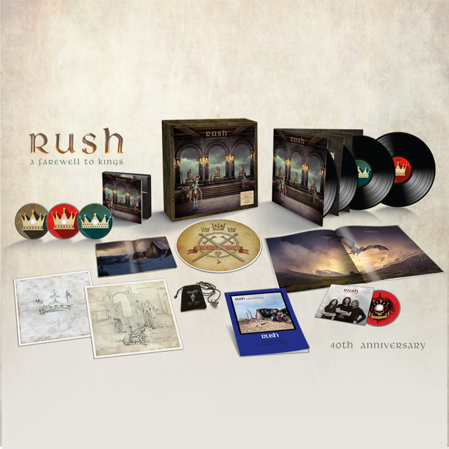 Rush / A Farewell to Kings - 40th Anniversary - Super Deluxe