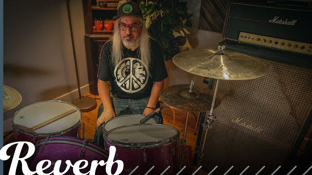 J Mascis Plays Classic Punk Drum Beats | Reverb Interview