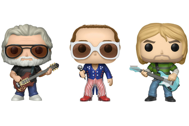 FUNKO Pop! Rocks: Series 3 - Kurt Cobain, Jerry Garcia, Elton John