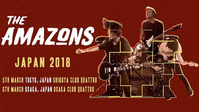The Amazons JAPAN TOUR 2018
