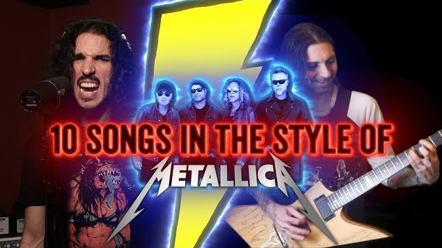 10 Songs in the Style of Metallica   Ten Second Songs Feat. EROCK