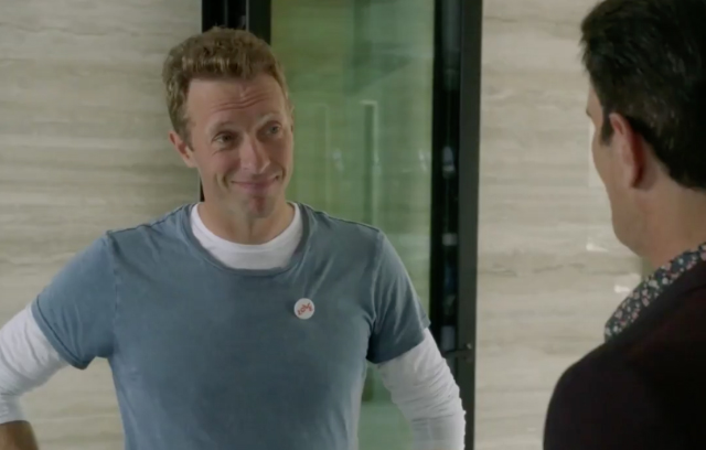 Coldplay's Chris Martin On Modern Family