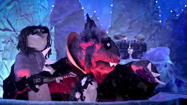 Immortal Christmas IV - The Banishing feet. Philip H. Anselmo as Krampus - Sock Puppet Parody