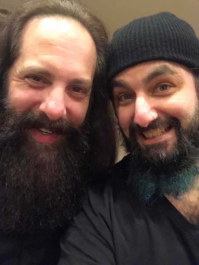 Mike Portnoy and John Petrucci