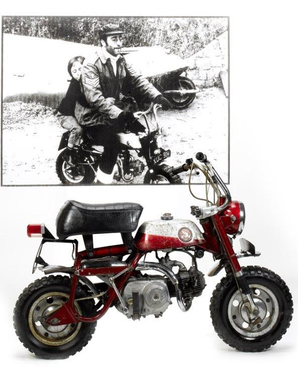 John Lennon's monkey bike