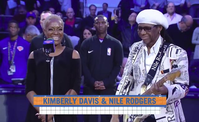 Nile Rodgers and Kimberly Davis