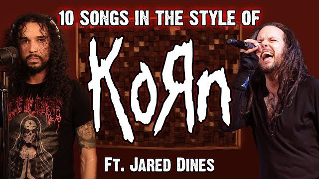 Ten Second Songs / 10 Songs in the Style of KoRn (ft. Jared Dines)