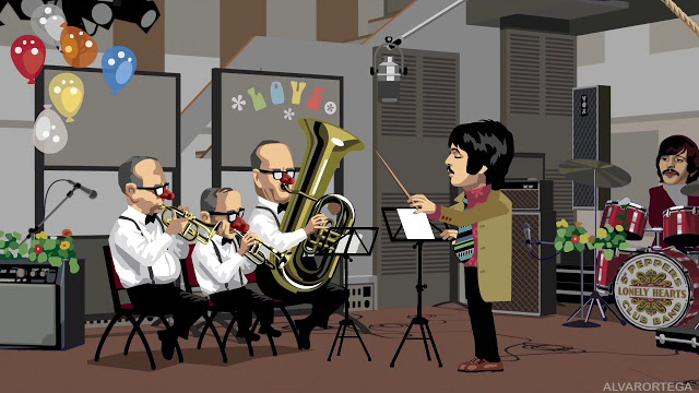 The Beatoons - A DAY IN THE LIFE -The Studio Gags-5