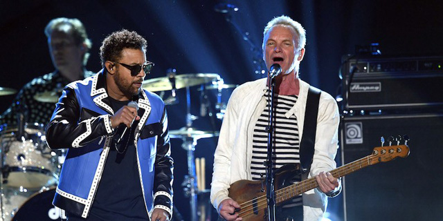 Sting & Shaggy - Photo by Getty Images