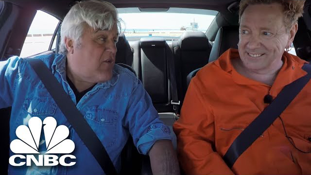 Jay Leno's Garage: Jay Leno Becomes Driving Instructor For Rocker Johnny Rotten | CNBC
