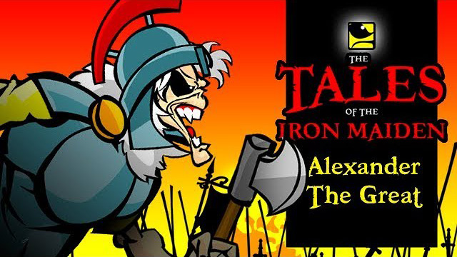 The Tales Of The Iron Maiden - ALEXANDER THE GREAT - MaidenCartoons Val Andrade