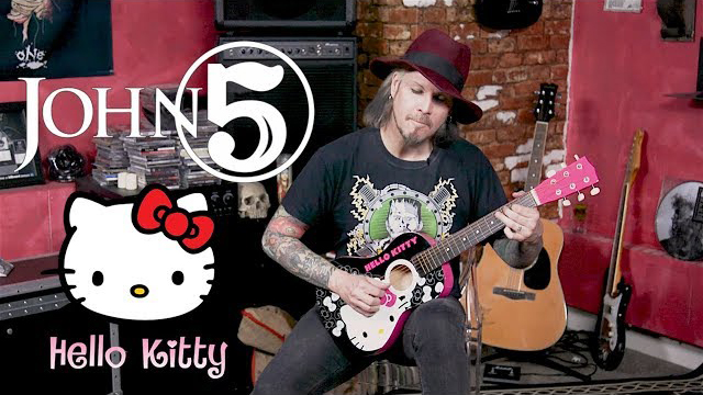 John 5 Plays Hello Kitty Guitar in 13 Different Styles - Loudwire