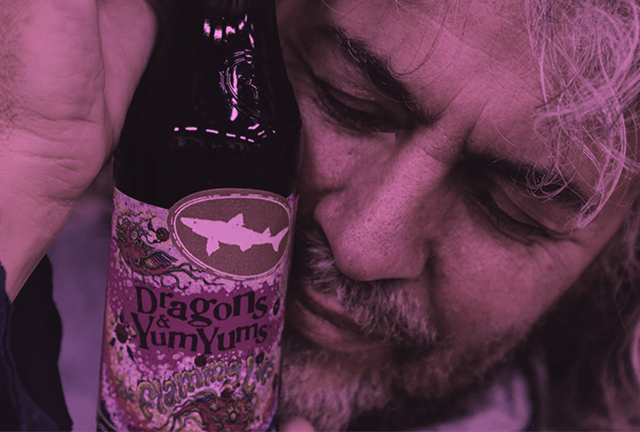 The Flaming Lips × Dogfish Head Craft Brewery  - Pink Dragons & YumYums ale