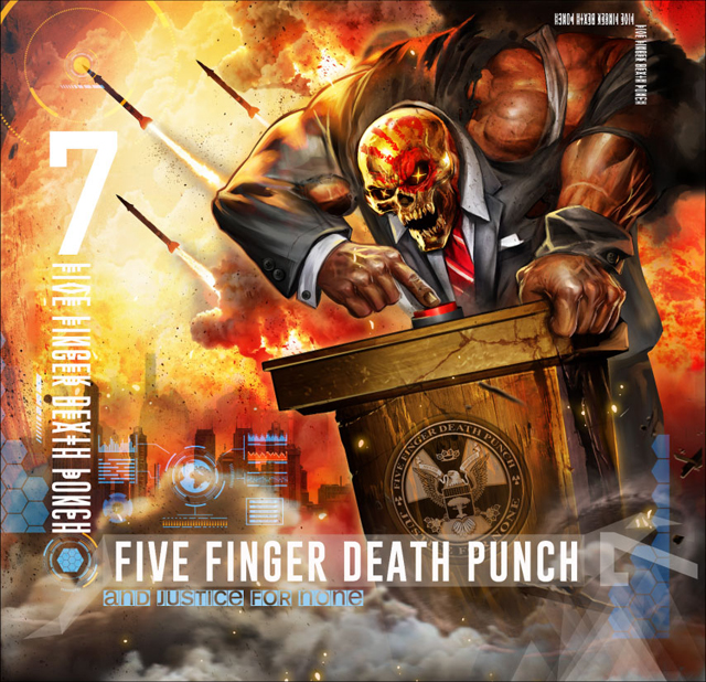 Five Finger Death Punch / And Justice For None [Standard edition]