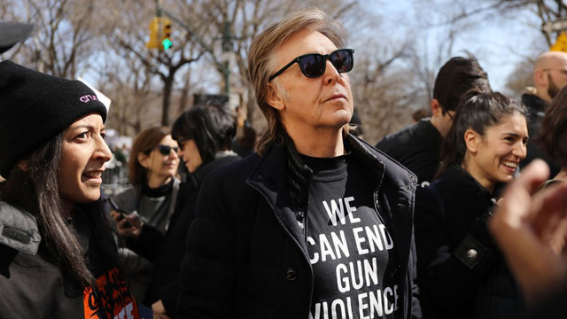 Paul McCartney - March for Our Live 2018