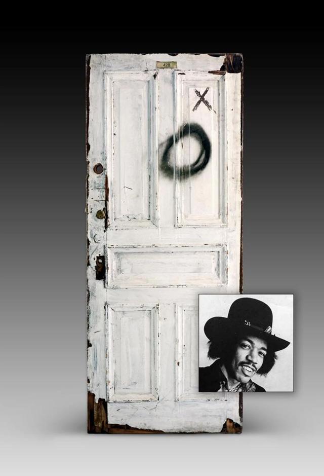 Chelsea Doors - Jimi Hendrix