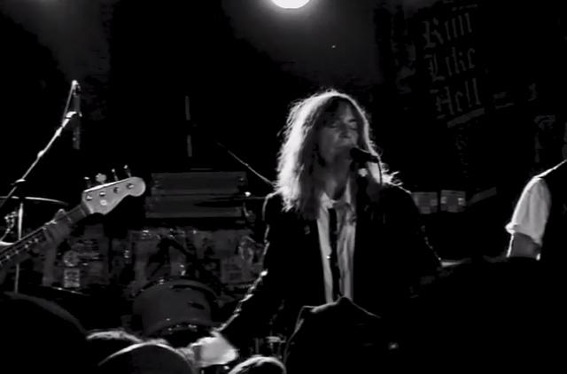 Patti Smith live at CBGB on October 15, 2006
