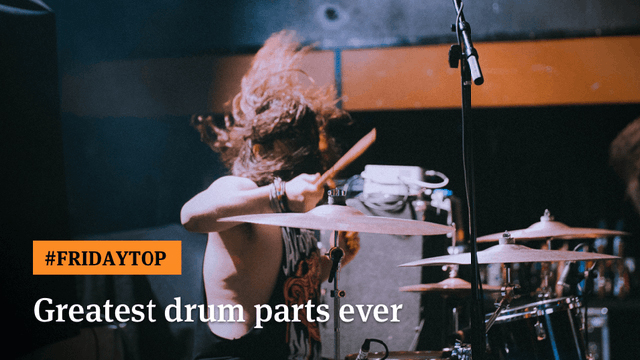 Ultimate Guitar - 30 Greatest Drum Parts Ever
