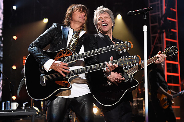 Jon Bon Jovi and Richie Sambora - Kevin Mazur/Getty Images For The Rock and Roll Hall of Fame